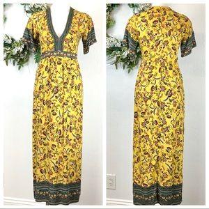 Urban Romantics Bohemian maxi dress